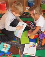 Деца играят в детска градина Mалки Стъпки