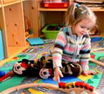 Children Playing at Little Steps Kindergarten